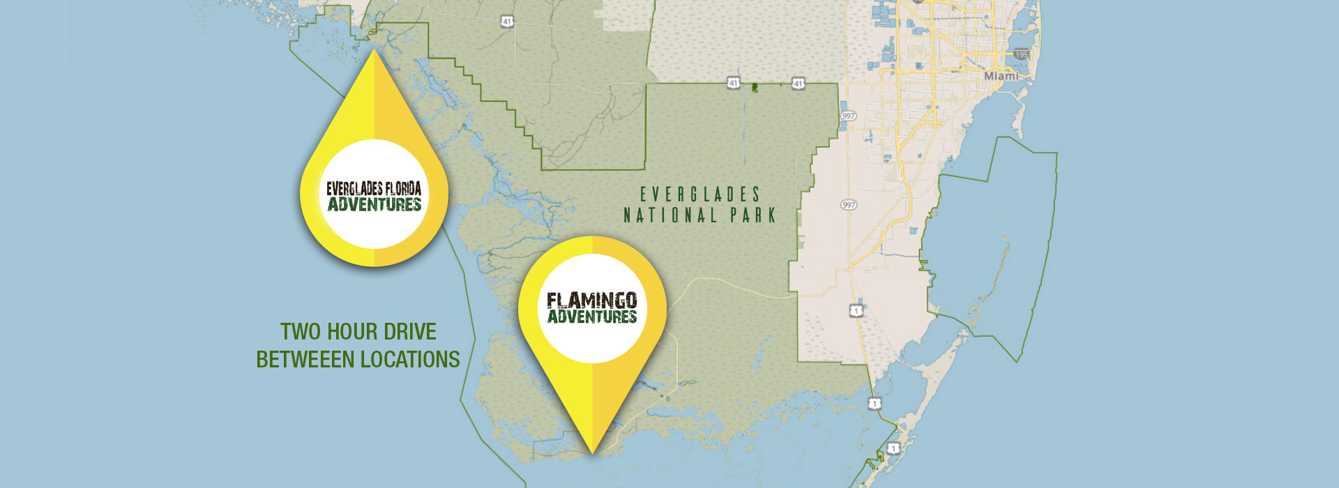 everglades map for both locations